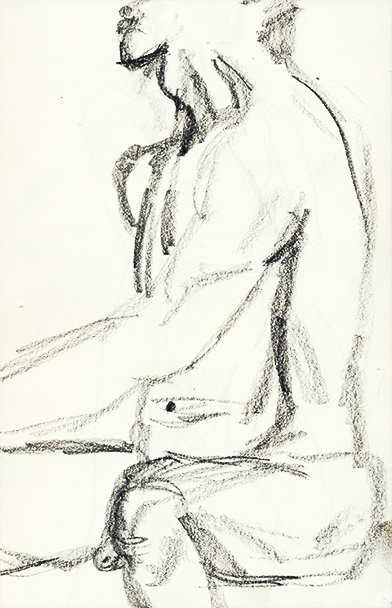 David 5.5 x 8.5 Sketch