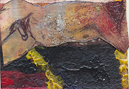 David ATC Collage Mixed Media 3